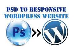 PSD to Responsive Theme